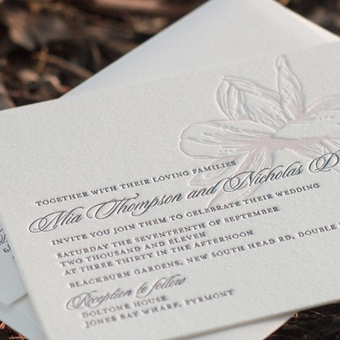 Mia wedding invitations