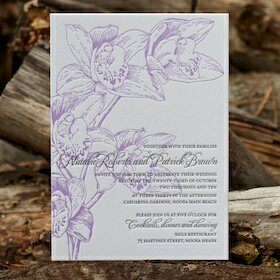 Natalie wedding invitations