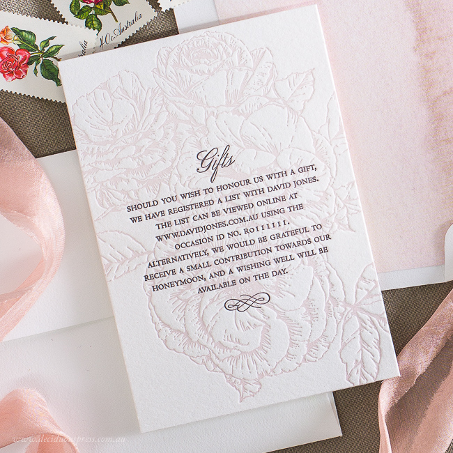 Wedding Gifts For Invitees: Gift Card Wording Suggestions