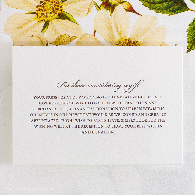 Wedding Gift Card Sayings: Gift Card Wording Suggestions