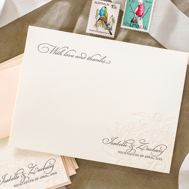 Wedding Thank You Note Wording: Wording Your Thank You Cards