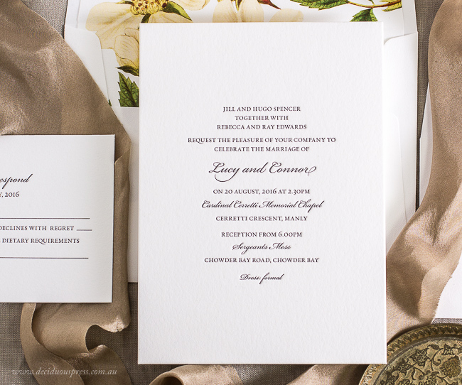 Wedding Invitation Wording - Ideas And Examples