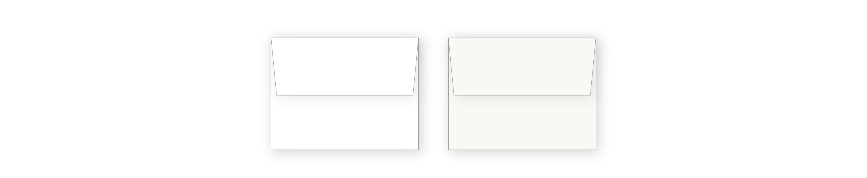 Medium Rectangle Envelopes