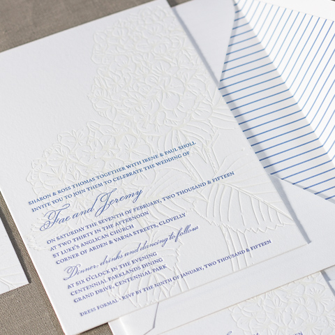 Fae wedding invitations