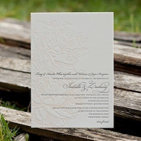 Isabelle wedding invitations