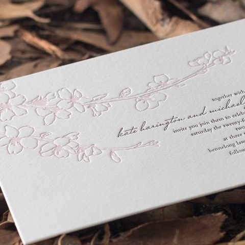 Kate wedding invitations