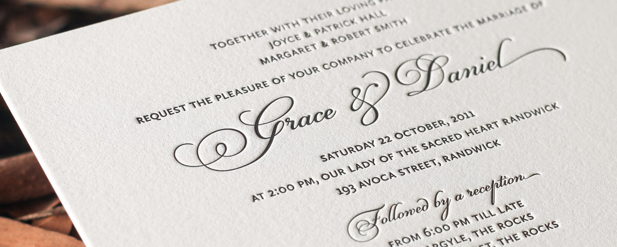 Wedding Invitation Wording Ideas: Wedding Invitation Wording - Ideas And Examples