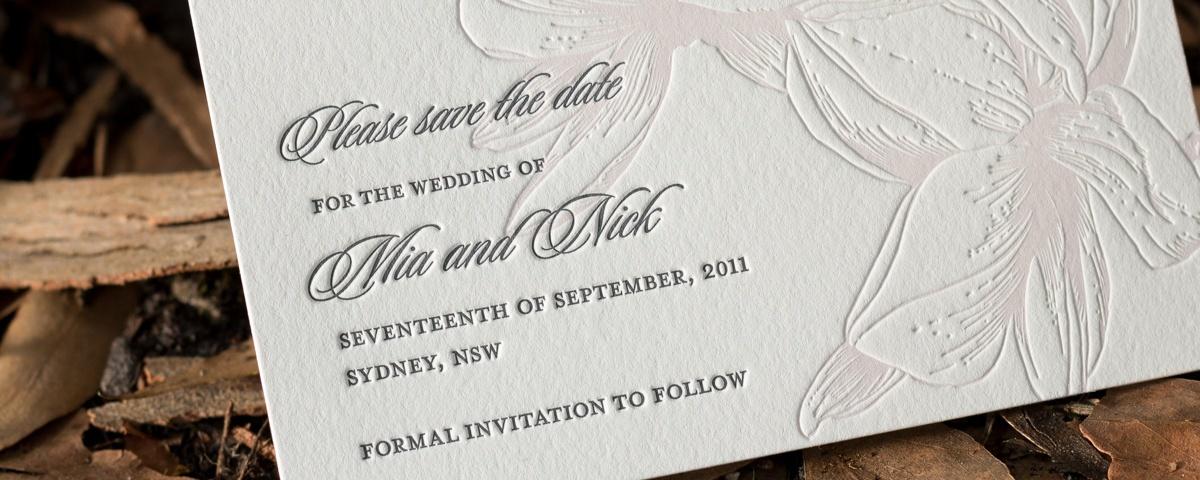 Wedding invitations inspired by garden settings floral design magnolias stopboris Gallery