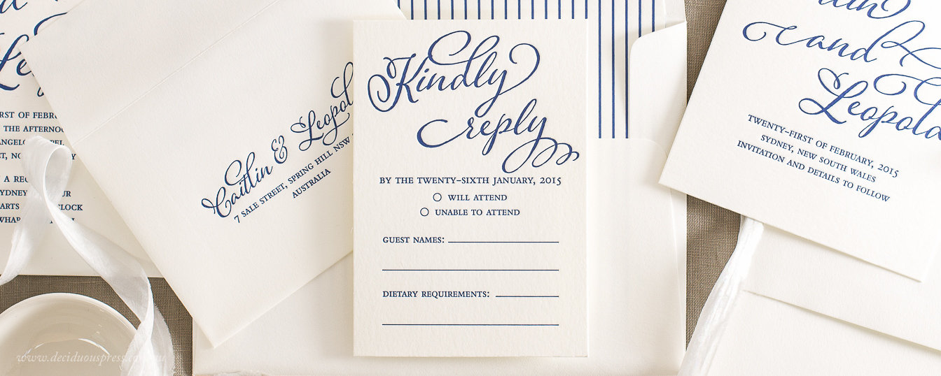 Wedding response card RSVP card example wording
