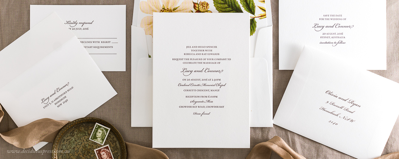 Elegant wedding invitation design beautiful fonts minimal elegant classic